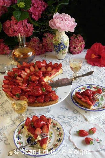 Protegido: PARIS – Dresser une table et recette de la tarte aux fraises